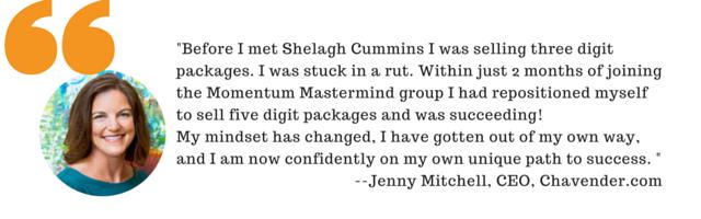 Shelagh Cummins Momentum