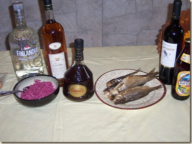 Thanksgiving2007 beets liquor dried_fish