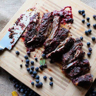 Bumbleberry BBQ Baby Back Ribs.
