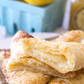 Lemon Cream Turnovers