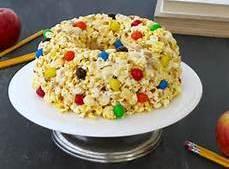 Angela's Popcorn Cake Recipe