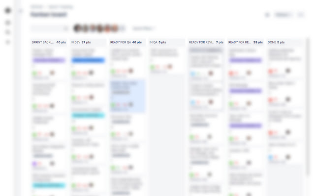 Story Point Totals for JIRA Kanban Boards