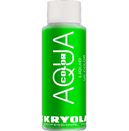 Kryolan UV Aquacolor, Grön