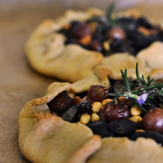 Goat Cheese and Grape Galettes