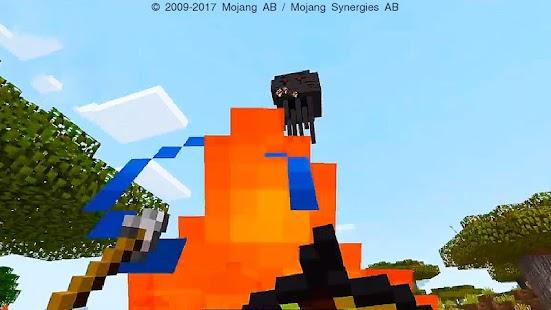 Three Headed Ghast Minecraft Addon - náhled