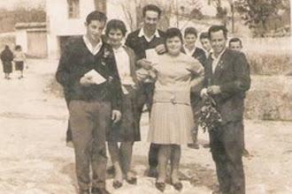 Photo: Nando Cabeza, Fina, Foro, Tita, Ernesto y detrás Luis Lombilla.