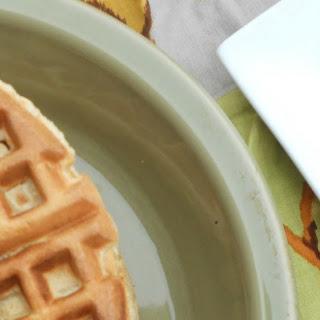 Overnight Buttermilk Cornbread Waffles.