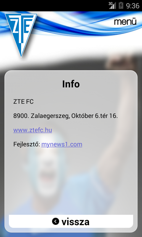 ZTE FC- screenshot
