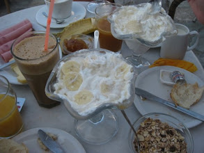 Photo: with the best breakfast yet!