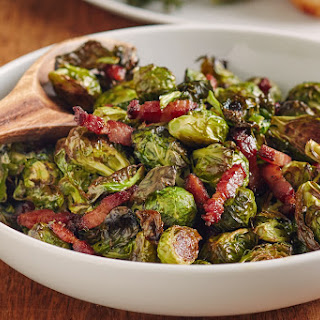 Cider-Glazed Brussels Sprouts and Bacon