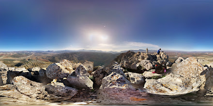 Photo: A screwed up photosphere from the top