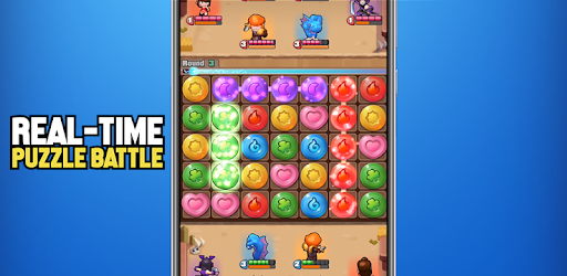 Real-Time Puzzle Battle. No Ads, Completely FREE.