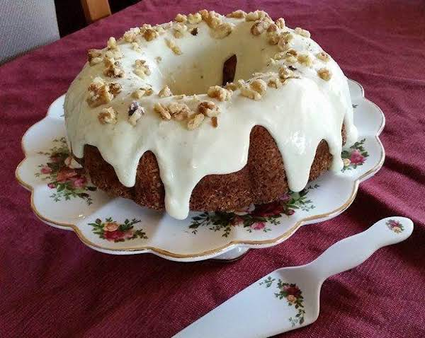 Spelt Carrot Pineapple Coconut Walnut Cake Recipe