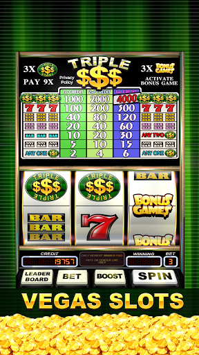 Triple Gold Dollars Slots Free 1.7 screenshots 1