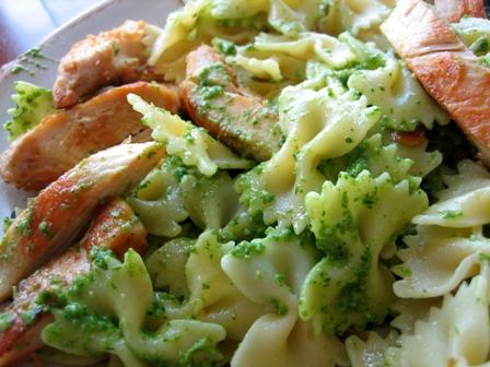 Pesto Pasta & Chicken