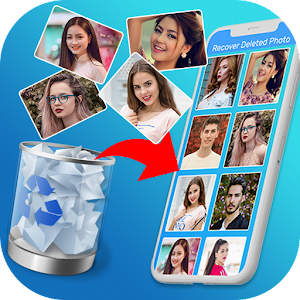 Restore Deleted Photos 2020 Photo Recovery App 5.4 by Decent Mobile Apps logo