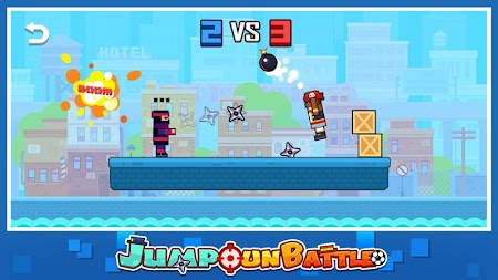 Jump Gun Battle APK screenshot thumbnail 3