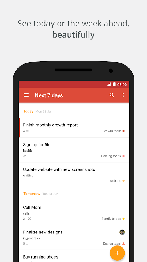 Todoist: To-Do List, Task List- screenshot