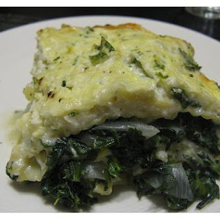 Spinach Lasagna Bechamel