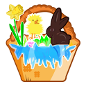 Easter Basket Dressup icon