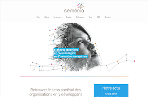 Séménia trusts Orson.io in order to create their website