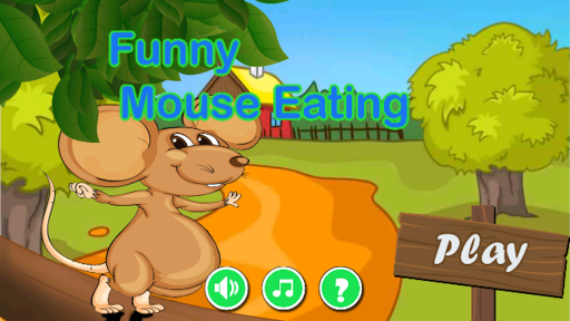 Funny Mouse Eating 1.0 screenshots 1