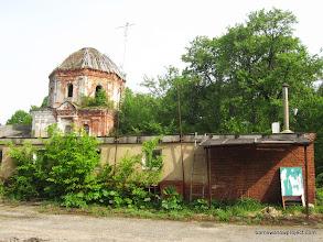 Photo: Abandoned church rotunda from outside