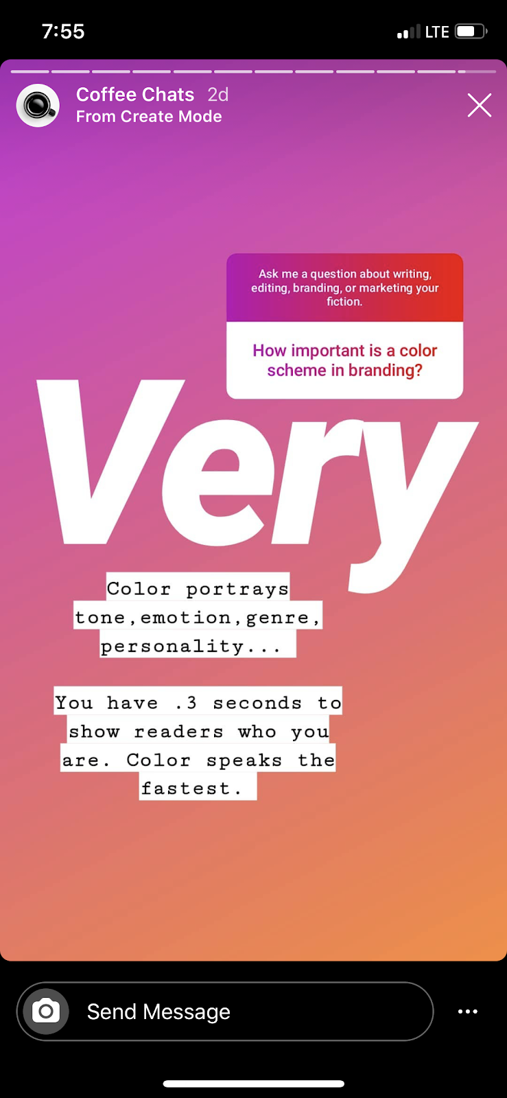 Instagram Stories examples