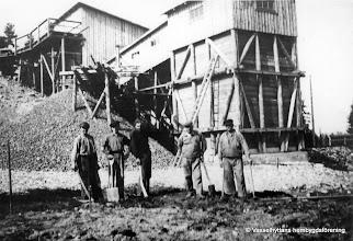 Photo: Ingelsgruvan-Krongruvan-krossen 1944