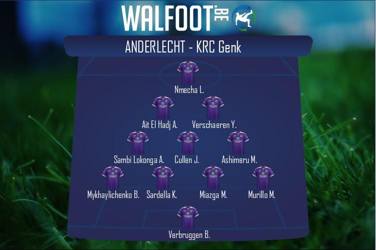 Anderlecht (Anderlecht - KRC Genk)