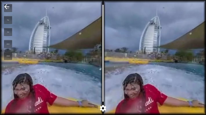 VR Water Roller Coaster 360 - screenshot