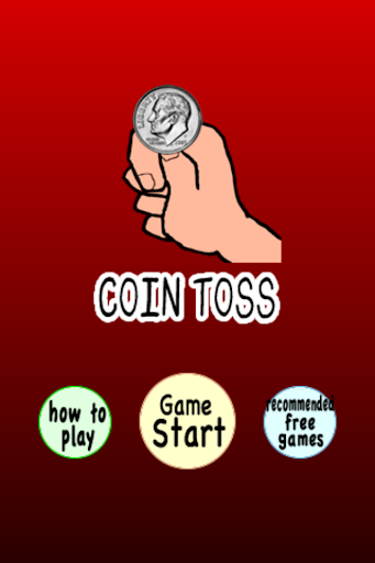 Coin Toss Heads or Tails
