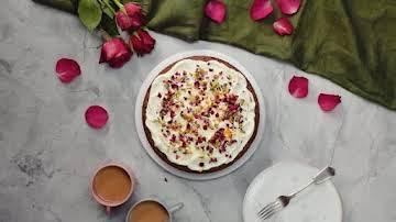 Pistachio & Rose Water Cake  ~ Recipe