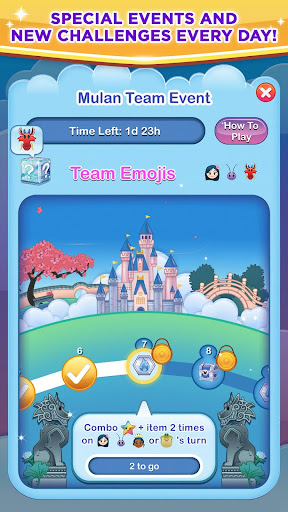 Disney Emoji Blitz apktram screenshots 11