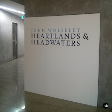 Photo: Title Wall Graphic at the National Gallery of Victoria