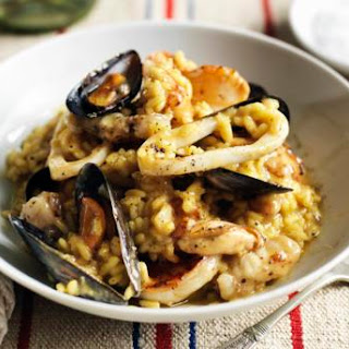 Seafood Vegetable Risotto Recipes