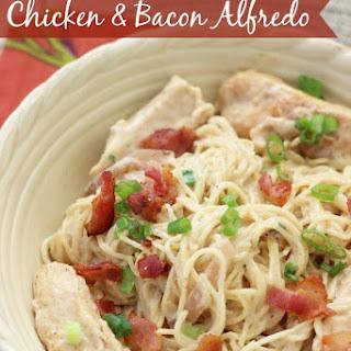Chicken & Bacon Alfredo