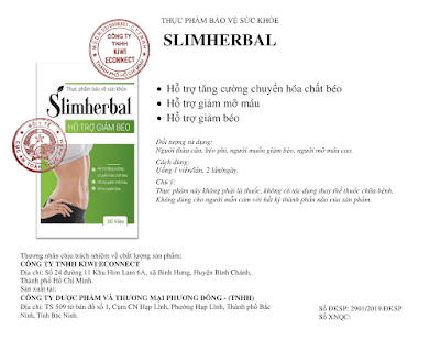 Nhà sản xuất Slimherbal là ai?