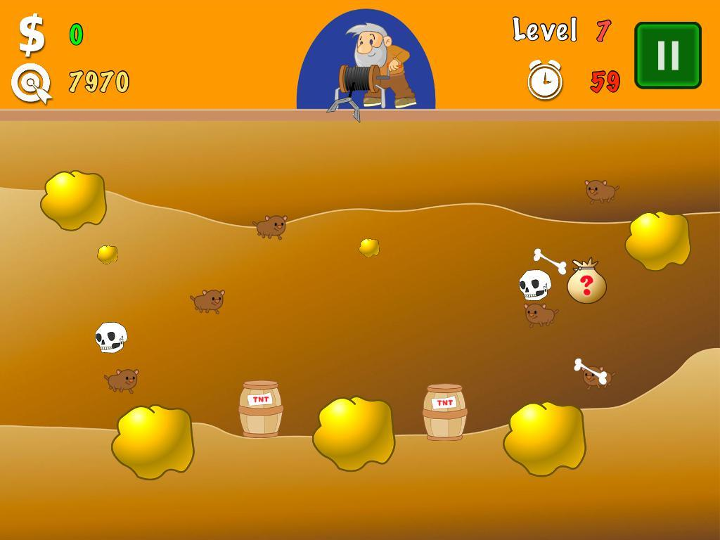 Gold Miner Classic- screenshot