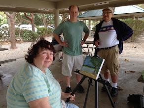 Photo: Donna Walsh, Brennan King and Stan Dornfest