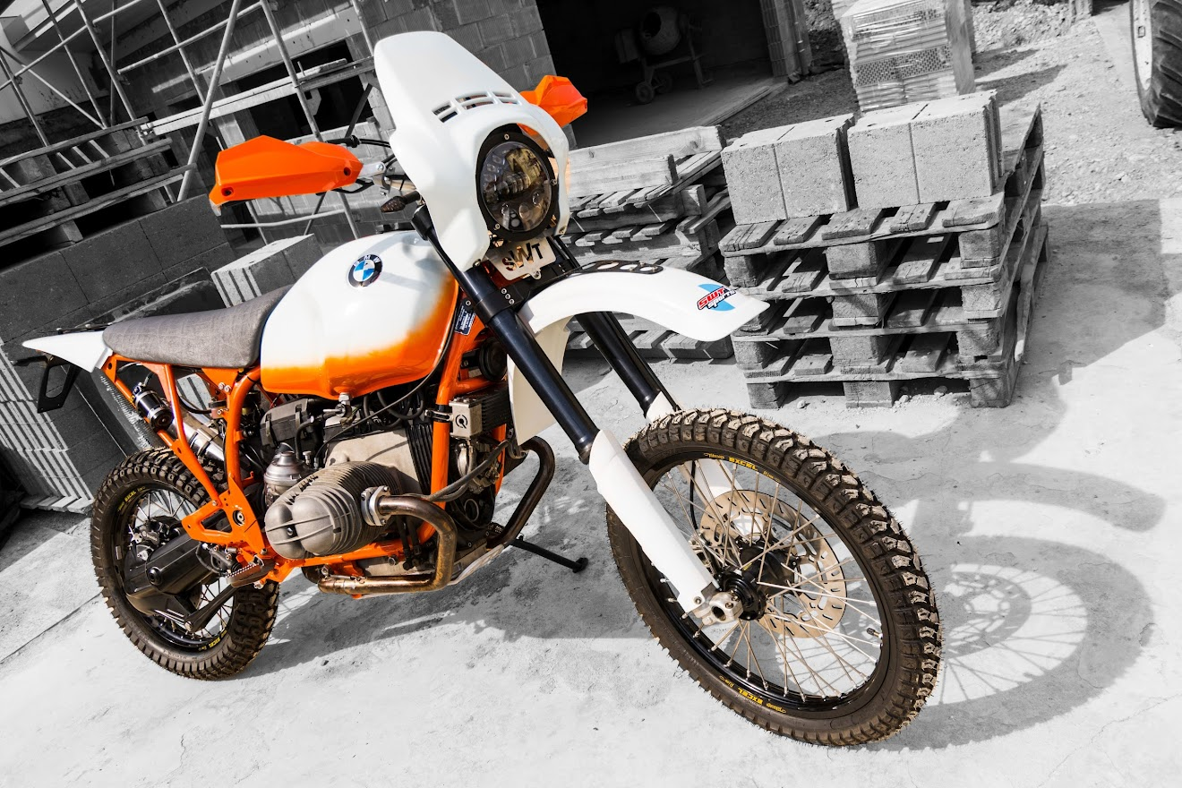 BMW Motorrad R 100 GS im SWT-SPORTS Trimm