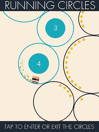 Running Circles для планшетов на Android