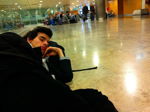 Photo: Barajas airport. Many a early mornings... Worth it!