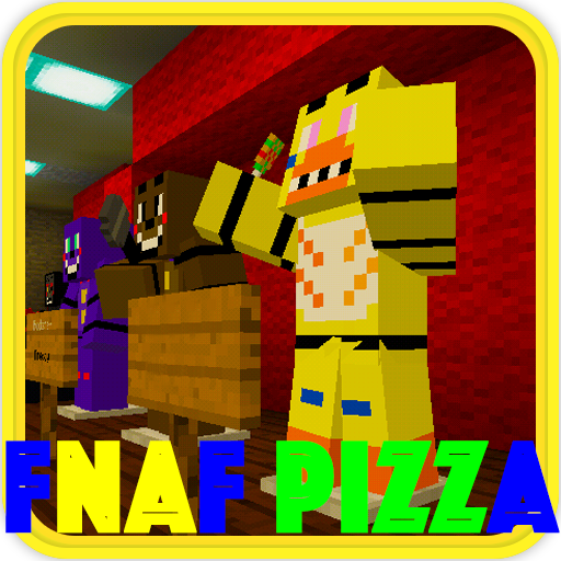 Fnaf Pizzeria map for MCPE Freddys 1.5.2812