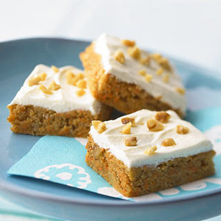 Nutty Carrot Cake Bars Recipe
