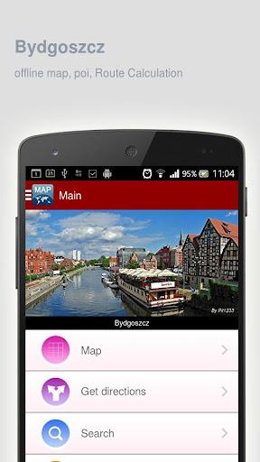 Bydgoszcz Map offline