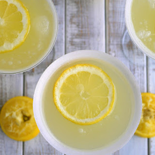 The Most Refreshing Lemon Drop Martini.