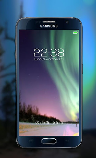 Northern Lights password Lock