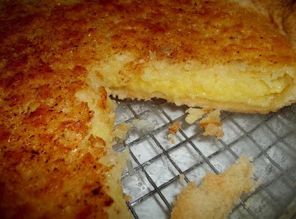 Coconut Custard Pie - Aunts Recipe