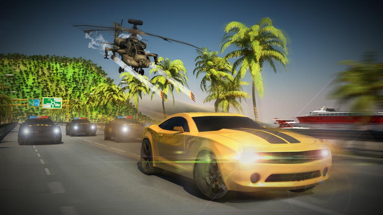 traffic racer free car game screenshot